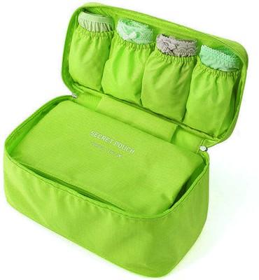 Inventure Retail Undergarments and innerwear Storage Bag Travel Organiser Polyester Pouch