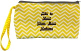 Color Plus Cosmetic Pouch (Yellow, White...