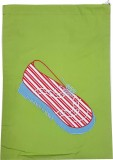 Morning Blossom Shoe Pouch (Green)