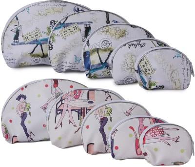 Uberlyfe Fashion Fiesta Multipurpose Pouch or Purse for Women - Set of 10