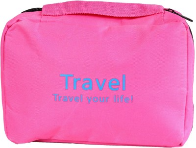 Pretty Krafts Travel Organizer Bag Pink Color(Pink)