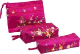 Asian Artisans Cosmetic Pouch (Pink)