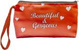 Color Plus Cosmetic Pouch (Orange, White...