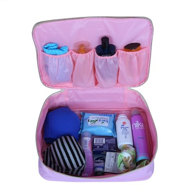 Pack N Buy Large Toiletry Pouch Organizer for Make-up Cosmetic Shaving Kit Toiletries Lingerie