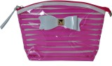 Priya Exports Cosmetic Pouch (Pink)