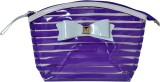 Priya Exports Cosmetic Pouch (Purple)