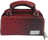 Modish Cosmetic Pouch (Maroon)