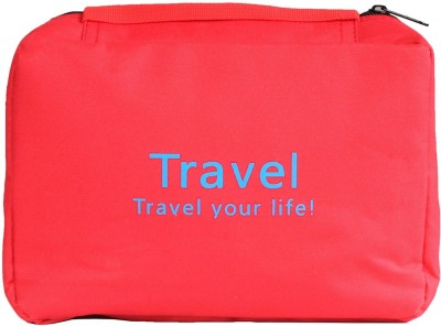 Pretty Krafts Travel Organizer Bag Red Color(Red)