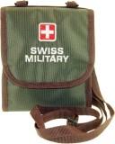 Swiss Military Men Travel Green Fabric W...