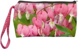 Color Plus Cosmetic Pouch (Pink, Green)