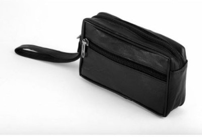 Kuero Leatherette Black pouchkr