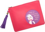 Thathing Cosmetic Pouch (Pink, Yellow, M...
