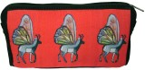 Indian Colours Cosmetic Pouch (Red)