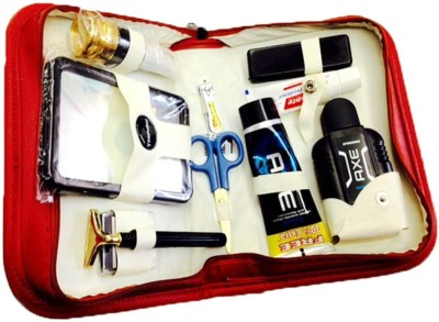 Toprun Thunder Denim Pride Travel Shaving Kit