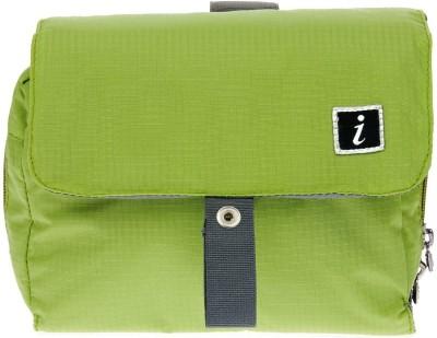 i High Density Polyester Travel Shaving Bag(Green)