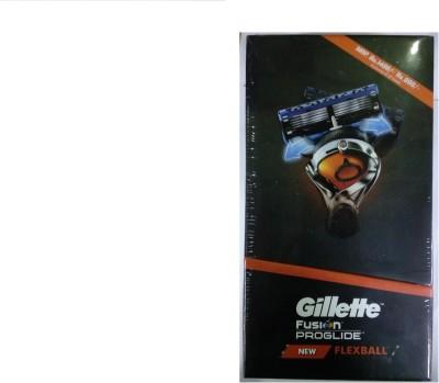 gillette Fusion Proglide FlexBall Manual Travel Shaving Kit & Bag