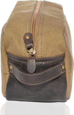 Crapgoos Dr Design's Travel Shaving Bag(Brown, Dark)