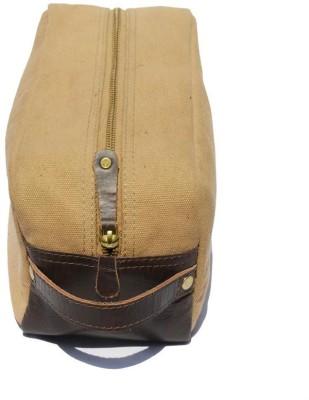Crapgoos Dr Design's Travel Shaving Bag(Brown)