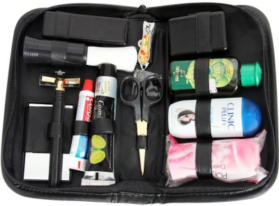 Toprun Thunder Just Look Gold Travel Shaving Kit & Bag