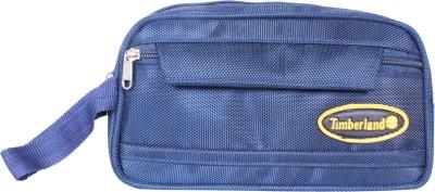 PSH twofold with pocket Travel Shaving Bag(Blue)