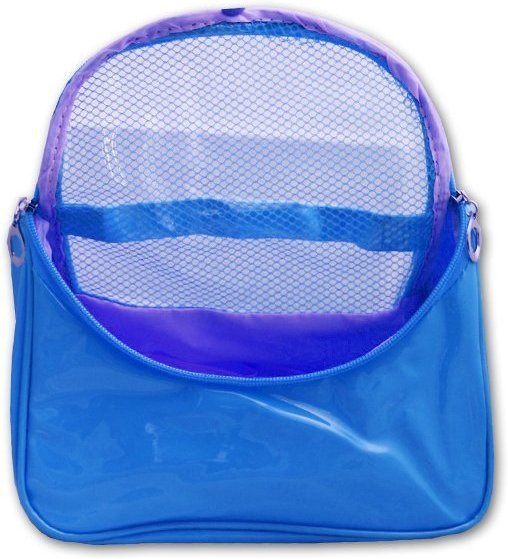 Italish Portable Cosmetic Make Up Toiletries Bag Organizer Travel Toiletry Kit(Blue)