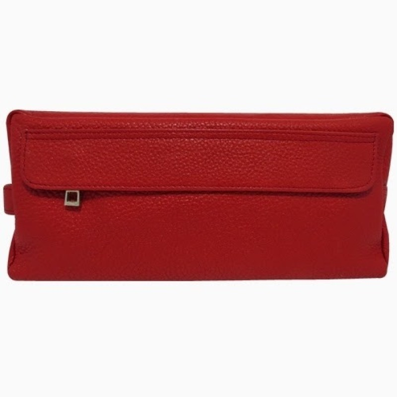 Chimera Leather 3623 Travel Toiletry Kit(Red)