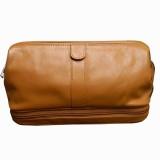 Chimera Leather 3607 Travel Toiletry Kit...