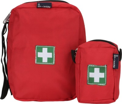 STIKAGE First Aid Pouch Travel Toiletry Kit