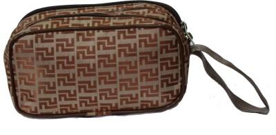 Yark 601 Brown Travel Toiletry Kit
