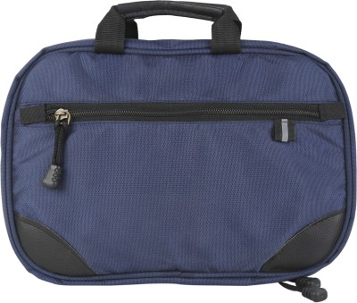 Fab.U Four Layer Multipurpose Navy Blue Polyester Travel Toiletry Kit