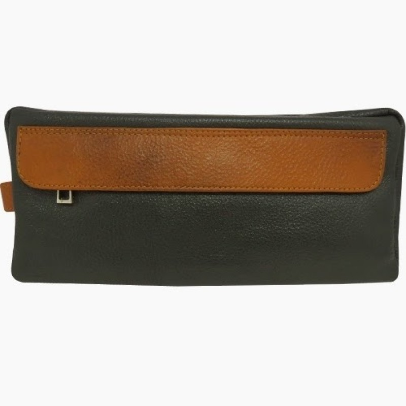 Chimera Leather 3626 Travel Toiletry Kit(Green)