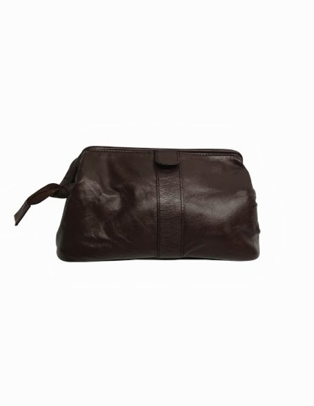 Chimera Leather 5262 Travel Toiletry Kit(Brown)