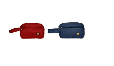 Yark MultiUtility Pouch-Set Of 2 Travel Toiletry Kit