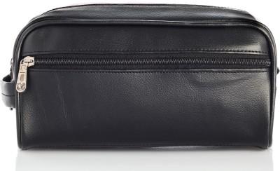 BagsRus Leatherette Kit Travel Toiletry Kit(Black)