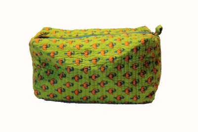 The Handicraft House Handmade Pouch Travel Toiletry Kit