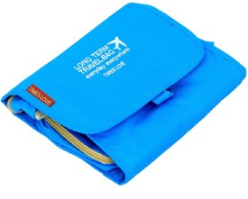 Kuber Industries Blue Long Travel Toiletry Kit(Blue)