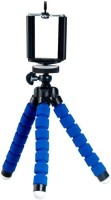 Mobilegear Velvet Finish Gorillapod with Universal Mobile Attachment(Blue, Supports Up to 300 g)