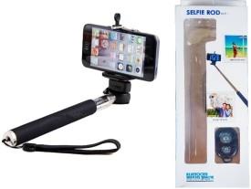 Smartfish Premium Series Selfie Stick Built in Bluetooth Monopod