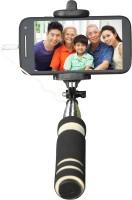 Cezzar Fashion Mini Pocket Selfie Stick for iPhones, Samsung, Panasonic P81, Lenovo A7000, Moto G (2nd Gen) Monopod(Black, Supports Up to 300 g)