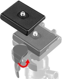 Neewer Quick Release Plate For Manfrotto 3157N Qr Tripod Head Tripod Ball Head
