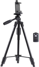 True Deal YUNTENG Tripod Kit(Black, Supports Up to 1500 g)