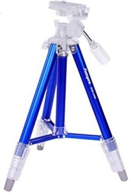 Fotopro MULTI PURPOSE TRIPOD FOR VIDEO AND PHOTO 4 SECTION 3 WAY HEAD Tripod(Blue, Supports Up to 3000 g)