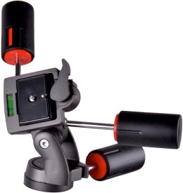 SONIA TH3 Tripod Ball Head(Black, Supports Up to 5000 g)