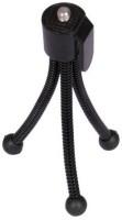 De-TechInn Universal Flexible Mini Pocket Metal Tripod Stand for Digital Camera Webcam mobile phones(Black, Supports Up to 400 g)