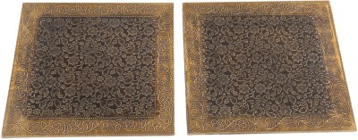 Rajrang WOD1370 Polished Brass Trivet