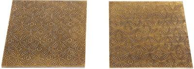 Rajrang WOD1316 Polished Brass Trivet