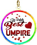 BOX18 WORLDS BEST UMPIRE 173 Medal (2.5 ...
