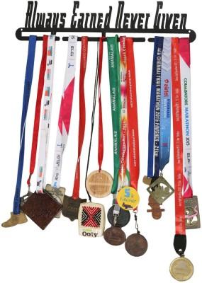 Runwynd Always Earned Never Given Medal Hanger Trophy(L)
