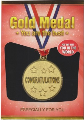 Atpata Funky World,S Best Congratulations Gold Medal Medal(M)