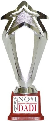 Trophydeal Worlds No#1 Dadi Trophy(10 Inches)